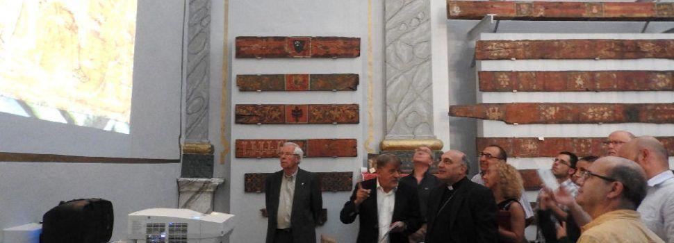 Administraciones y obispado logran recuperar uno de los mejores ejemplos valencianos de decoración de cubiertas medievales