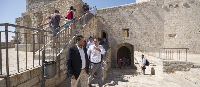 El castell de Peníscola, cada vegada amb mès visites