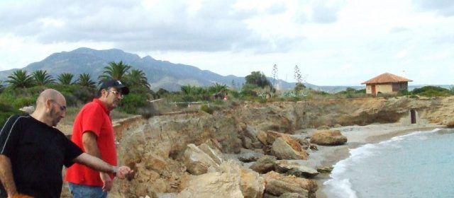 Navarrete (Compromís) exige frenar el deterioro de la costa vinarocense