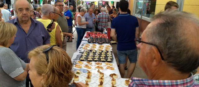 Deliciosa mostra de pinxos mariners a Benicarló
