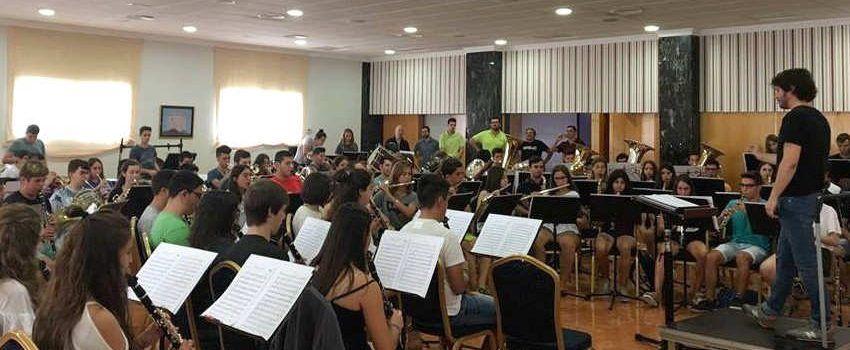 La Banda Simfònica de la Diputació de Tarragona, d'estada a Sant Carles
