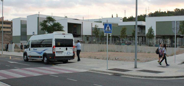 Transport de 905 alumnes del Baix Ebre a 10 centres d'ensenyament