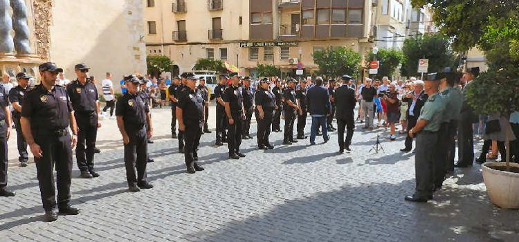 Celebració del patró de la policia local S.Miquel, en fotos i vídeo