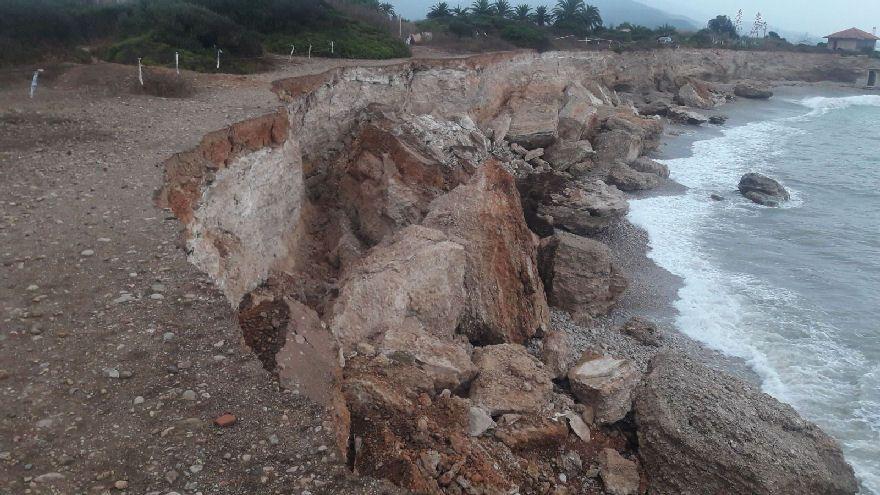 Nuevo gran desprendimiento de 30 metros en Sòl de Riu