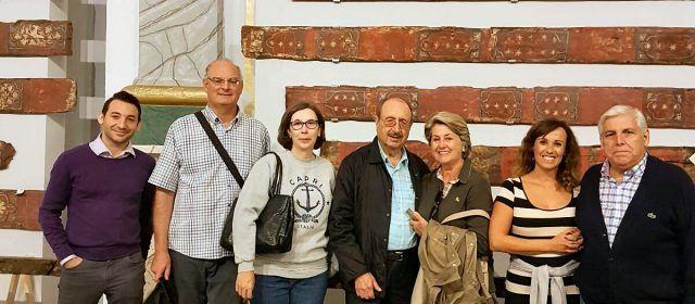 De visita a la sostrada medieval de Vallibona