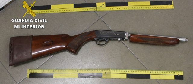 Detenido en Vinaròs por tenencia ilícita de armas