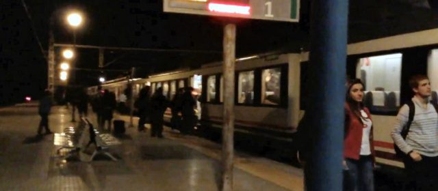 'Trens dignes al Maestrat' reclama a la Diputació que apruebe la moción de Benicarló