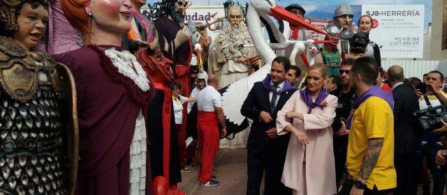 Gegants i nanos de Vinaròs, a Torrejón