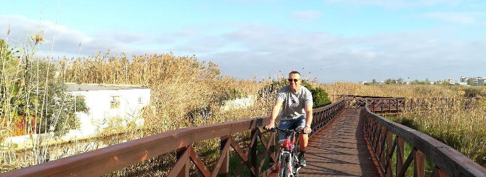 Peñiscola ha restaurado la pasarela del marjal