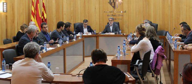 El Consell Comarcal del Baix Ebre i l'Ajuntament d'Amposta rebutgen el 155