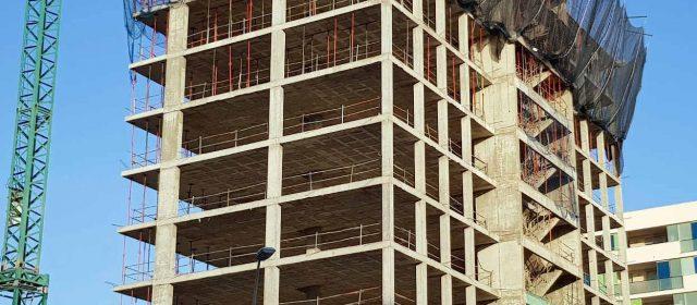 Ligero repunte del sector de la construcción