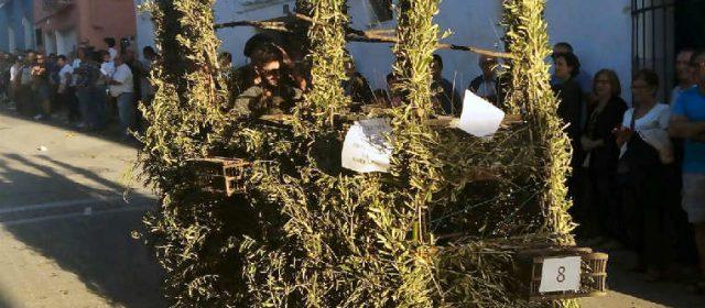 La baixada de carraus a Alcanar, en fotos