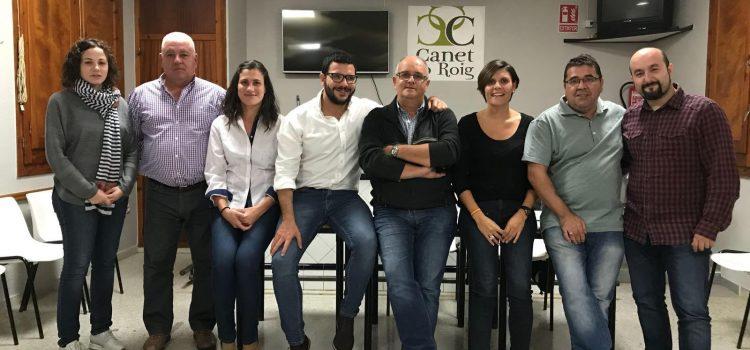 Tomás Garcés, nuevo presidente del PP de Canet lo Roig