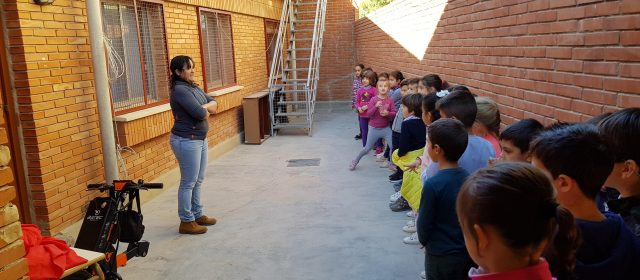 Visita escolar a Afaniad