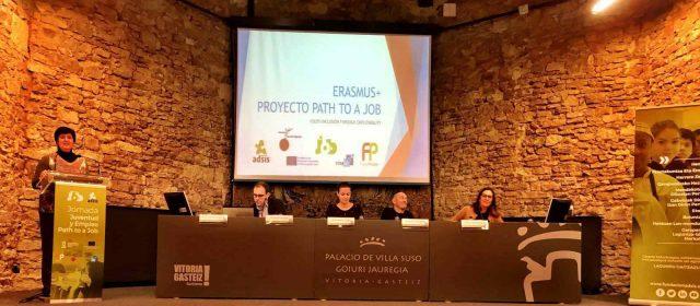 Tancament d'Erasmus +, Path to a Job amb l'Ajuntament de Vinaròs