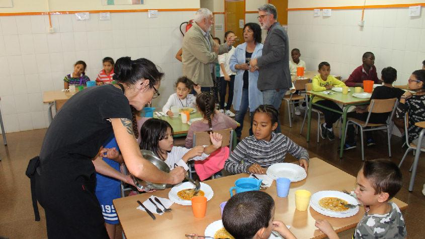 El Consell Comarcal del Baix Ebre millora els menjadors escolars de la Mercè i Remolins