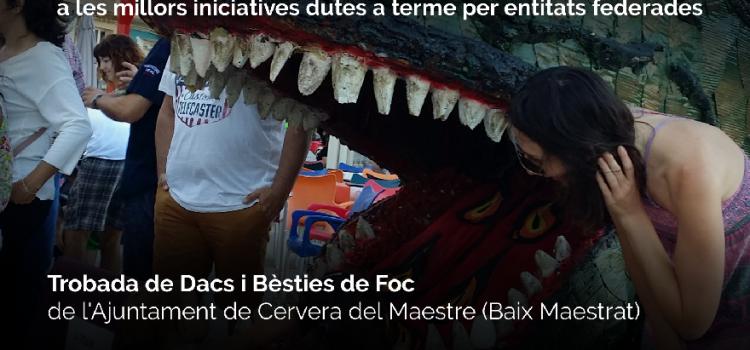 La trobada de dracs de Cervera, finalista dels Premis Best