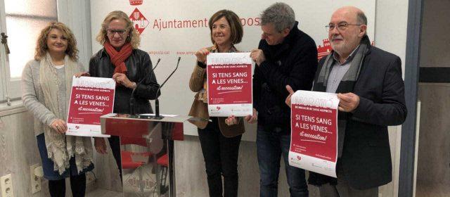 La Marató de Sang d'Amposta se suma a la donació de plasma