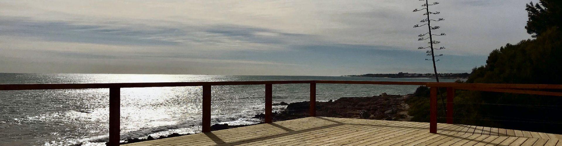 Finalitza la construcció del nou mirador al costat del port esportiu de Alcossebre