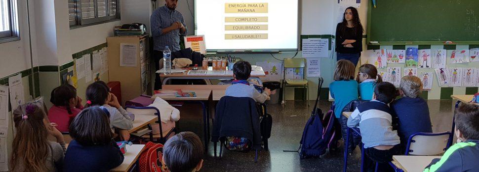 Xerrada escolar al CEIP Assumpció sobre nutrició per Tomàs Ferrer