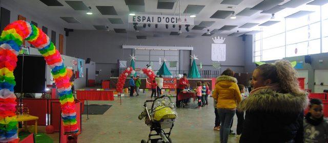 Els xiquets d'Alcalà ja gaudeixen de NadalParc