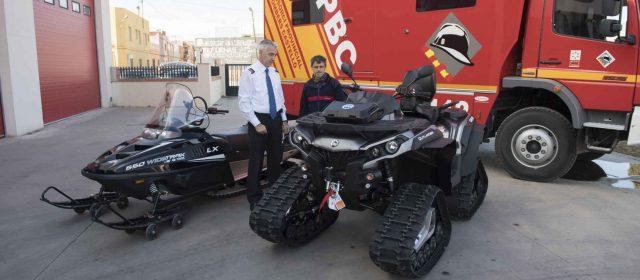 El Consorcio de Bomberos incorpora dos vehículos especializados para el acceso rápido y rescate
