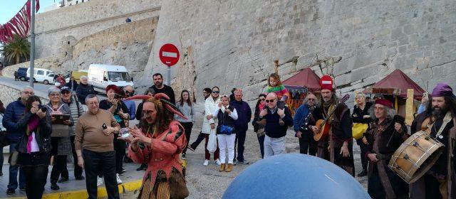Peñíscola inaugura su Mercado Medieval para despedir el año