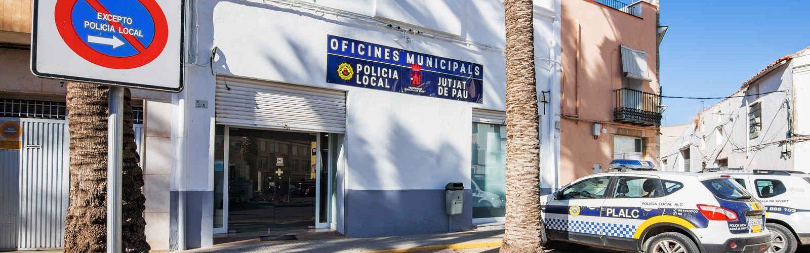 Accions de la Policia Local Alcalà-Alcossebre contra l'absentisme escolar