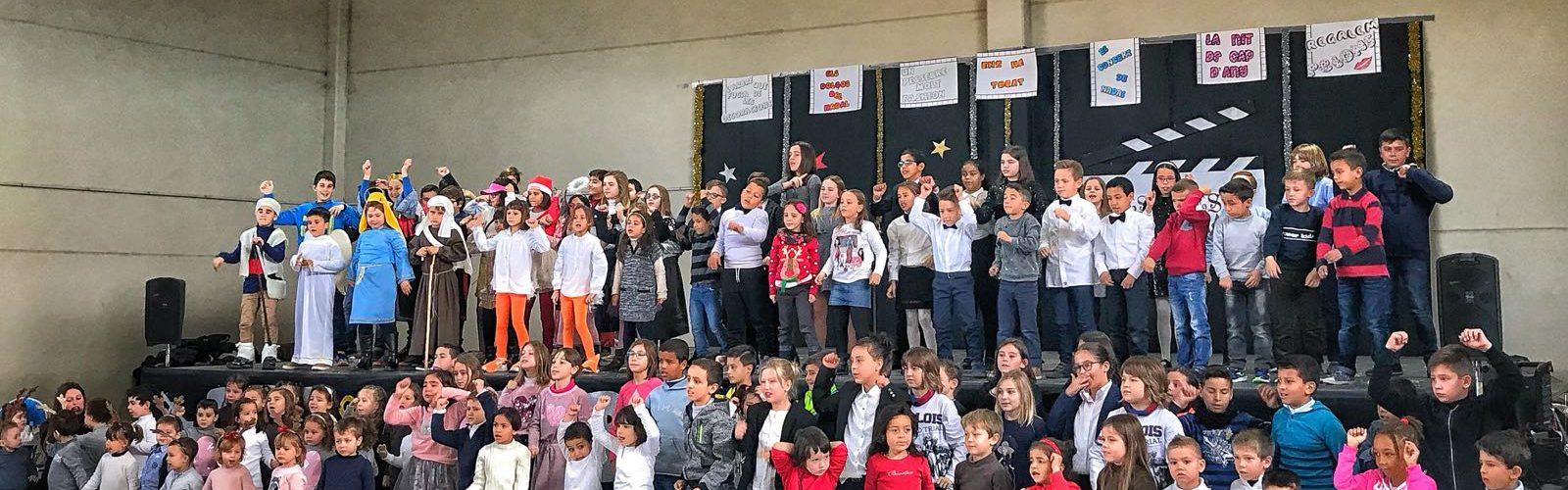 Trobada nadalenca dels escolars de La Jana, Canet i Cervera