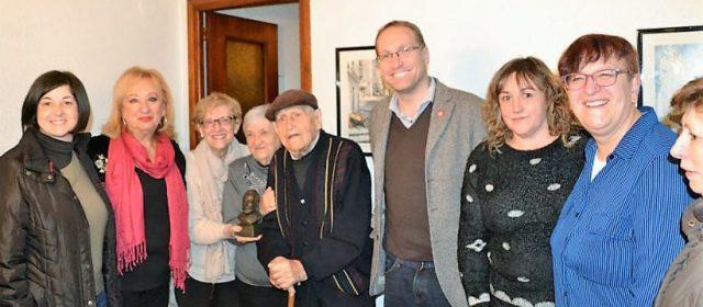 Homenaje socialista a Julio Rambla Persiva, por sus 100 años de vida