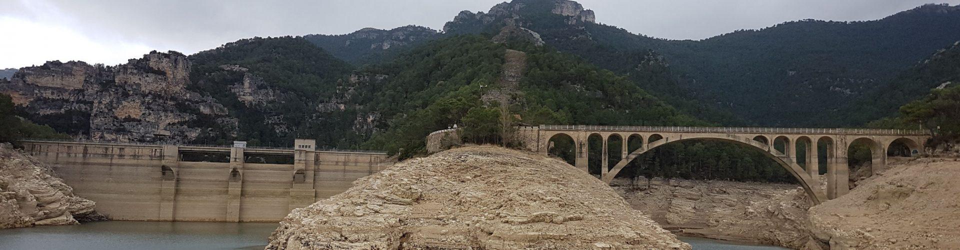 El pantà d'Ulldecona, a solament el 9% de la seua capacitat