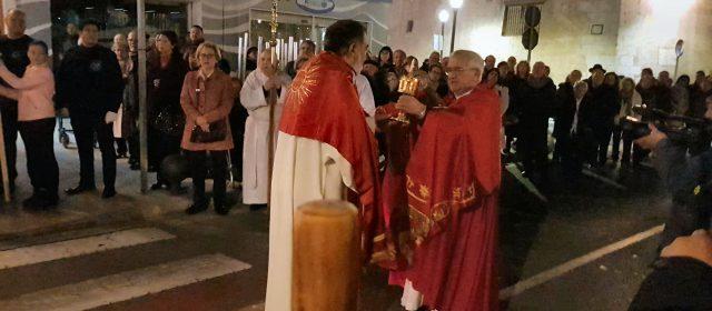 Sant Sebastià (la relíquia) torna al poble
