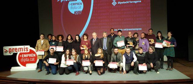 Els Premis Emprèn de la Diputació de Tarragona impulsen 14 nous projectes empresarials