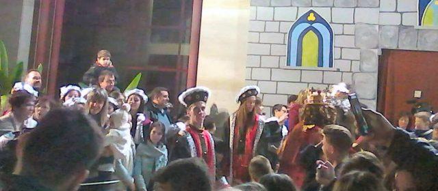 Els Reis, han sigut rebuts a l'Ajuntament d'Alcanar