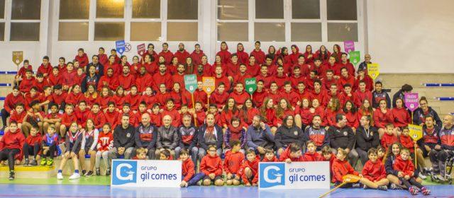 Presentación del Club Basquet Gil Comes Vinaròs Servol y de todos sus equipos