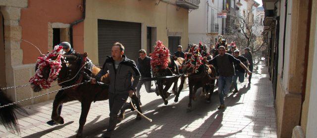 Les Rossegades atrauen centenars de persones a Albocàsser