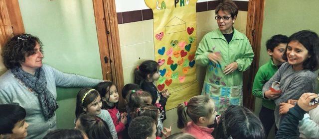 El CRA Araboga Canet-La Jana-Cervera celebrà el Dia de la Pau
