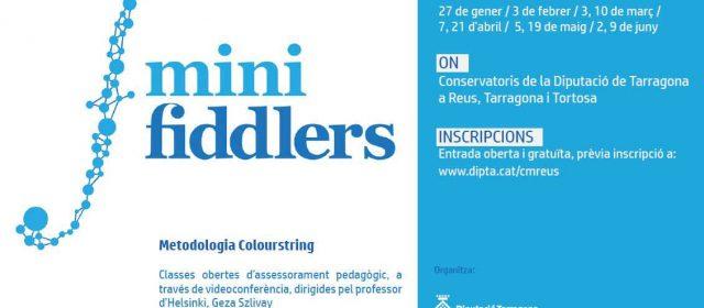 El Conservatori de Tortosa implanta el programa pedagògic pioner Minifiddlers