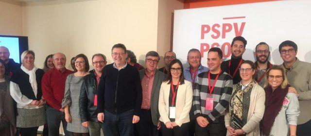 Ximo Puig participa en Peñíscola en la clausura del Congreso Ports-Maestrat del PSPV