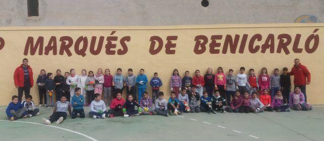 """El Marqués participa en el Programa """"Pilota a l'escola"""""""