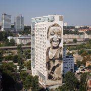 """Un artista internacional, guanyador del concurs d'art mural """"Vinaròs Art Urbà"""""""