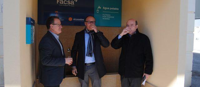 Les noves fonts d'osmosi d'Alcalà i Alcossebre ja estan en funcionament