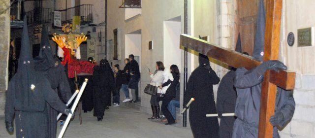 Comencen els actes tradicionals de Setmana Santa a Morella