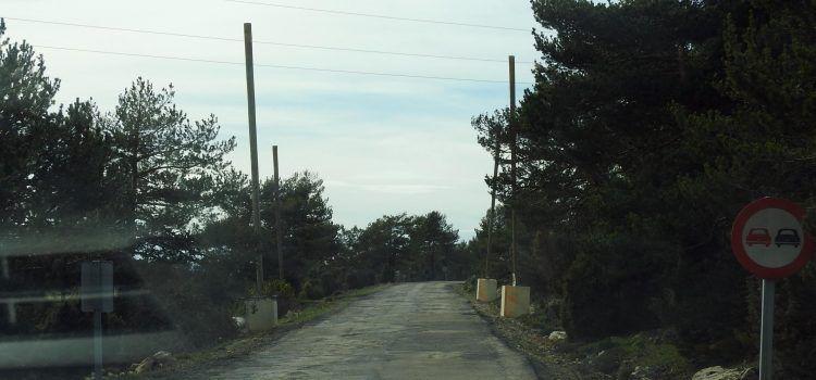 Pròxims talls de la carretera de Vallibona