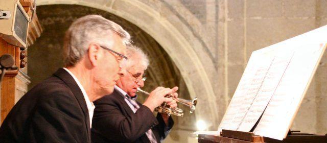 Doble concert de Setmana Santa, amb orgue, trompeta i coral
