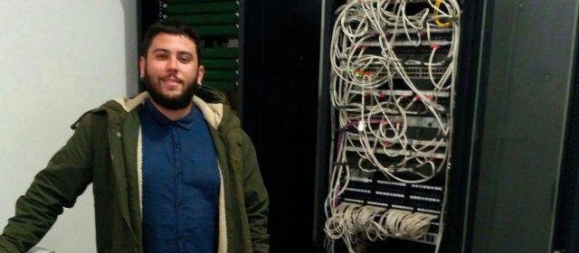 Noves Tecnologies amplia la xarxa municipal de fibra òptica