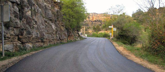 Vallibona millora l'entrada al poble