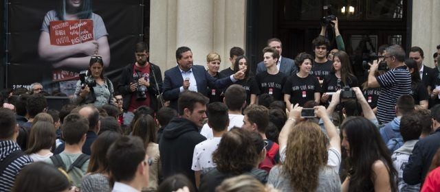Más de mil estudiantes de institutos alzarán la voz contra el acoso escolar junto a la Diputación y 'Nada Será Igual'