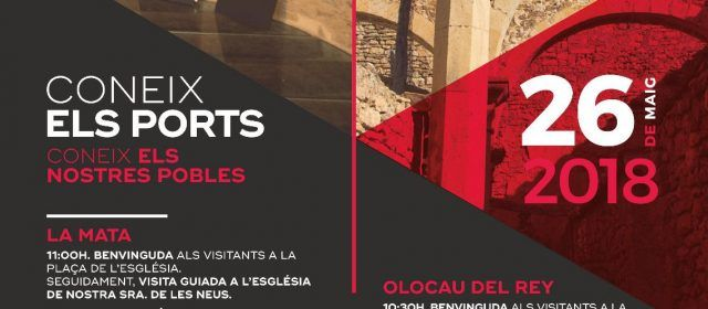 """La Mancomunitat Els Ports impulsa la campanya """"Coneix Els Ports"""""""