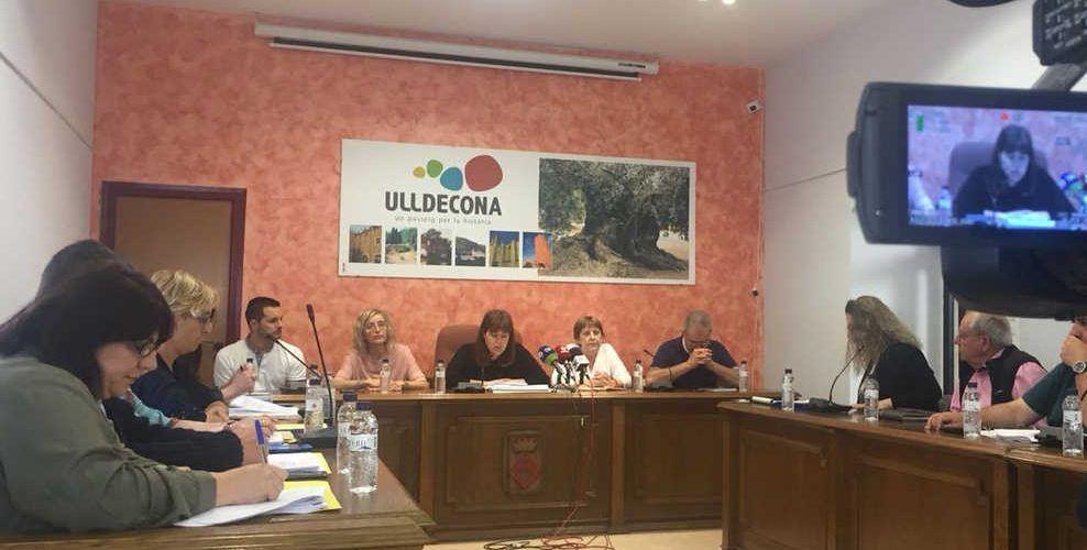 El govern d'Ulldecona no supera la qüestió de confiança per desbloquejar els pressupostos